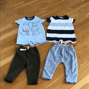 4 pieces of baby outfits for one price